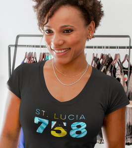 St Lucia 758 Womens T-Shirt