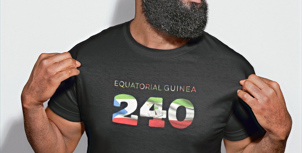 Equatorial Guinea 240 Mens T-Shirt