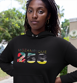 Mozambique 258 Womens Pullover Hoodie