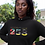 Mozambique Womens Black Hoodie