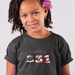 Liberia Childrens T-Shirt