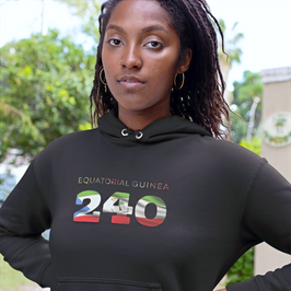 Equatorial Guinea 240 Women's Pullover Hoodie