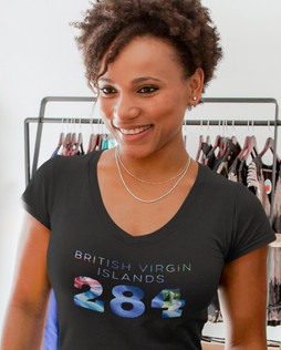 British Virgin Islands 284 Women's T-Shirt