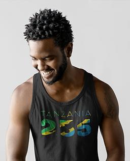 Tanzania 255 Mens Tank Top