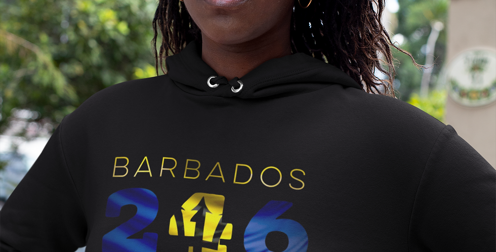 Barbados Womens Pullover Hoodie