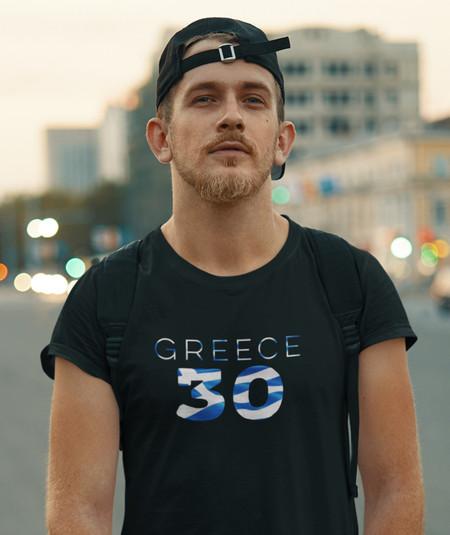 Greece 30 Mens T-Shirt