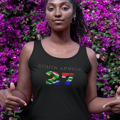 South Africa 27 Womens Vest