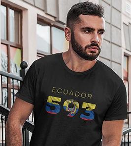 Ecuador 593 Mens T-Shirt