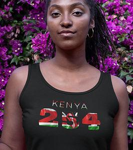 Kenya 254 Womens Vest