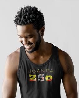 Uganda 256 Mens Tank Top