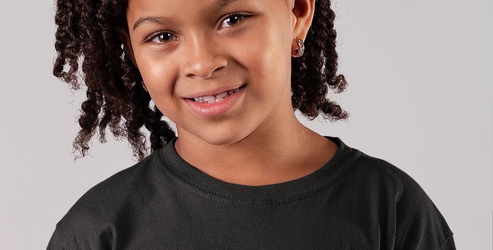 Childrens Black British Virgin Islands T-Shirt