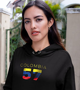 Colombia 57 Women's Pullover Hoodie