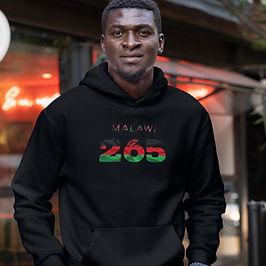 Malawi 265 Men's Pullover Hoodie
