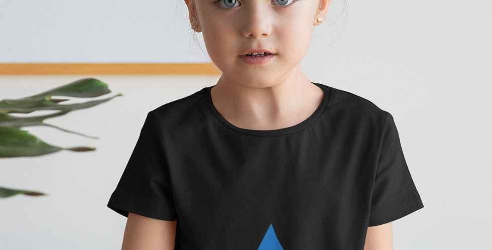 Childrens Estonia Black T-Shirt