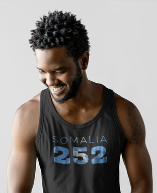 Somalia 252 Mens Tank Top