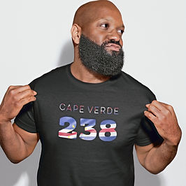 Cape Verde 238 Mens T-Shirt