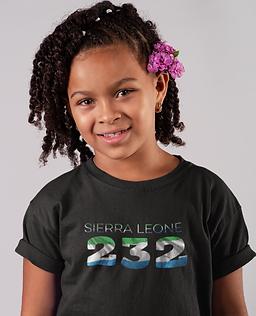 Sierra Leone Childrens T-Shirt