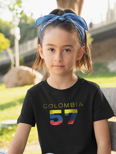 Colombia Childrens T-Shirt