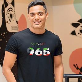Kuwait 965 Mens T-Shirt