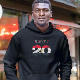 Egypt 20 Men's Pullover Hoodie