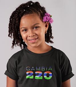 Gambia Childrens T-Shirt