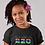 Childrens Gambia Black T-Shirt