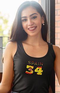Spain 34 Womens Vest