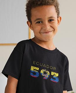 Ecuador Childrens T-Shirt