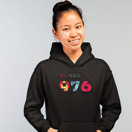 Mongolia 976 Womens Pullover Hoodie