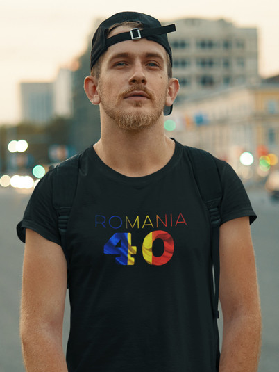 Romania 40 Mens T-Shirt