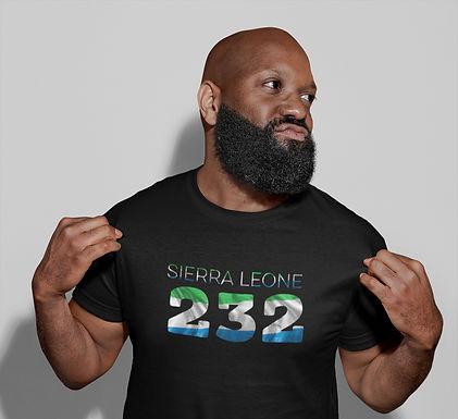 Sierra Leone 232 Mens T-Shirt