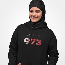 Bahrain 973 Womens Pullover Hoodie