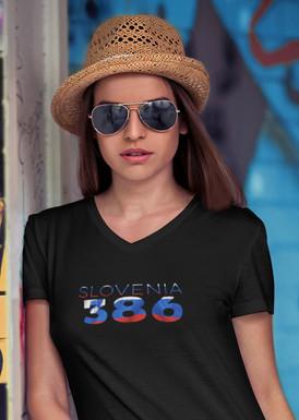 Slovenia 386 Womens T-Shirt