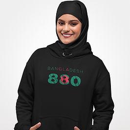 Bangladesh 880 Womens Pullover Hoodie