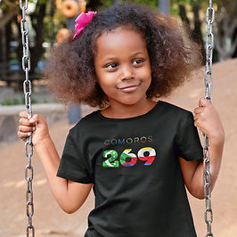 Comoros Childrens T-Shirt