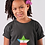 Equatorial Guinea Childrens Black T-Shirt