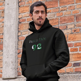 Pakistan 92 Mens Pullover Hoodie
