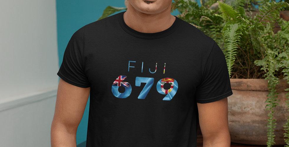 Fiji Mens Black T-Shirt