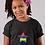 Childrens BlackMauritius T-Shirt