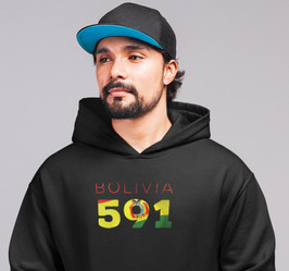 Bolivia 591 Men's Pullover Hoodie