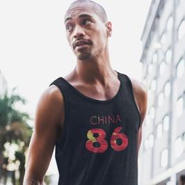 China 86 Mens Tank Top