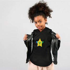 St Vincent and the Grenadines Childrens Hoodie