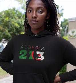 Algeria 213 Women's Pullover Hoodie