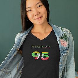 Myanmar 95 Womens T-Shirt
