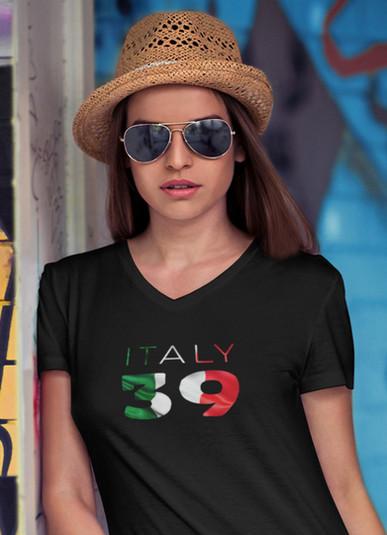 Italy 39 Women's T-Shirt