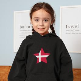 Denmark Childrens Hoodie