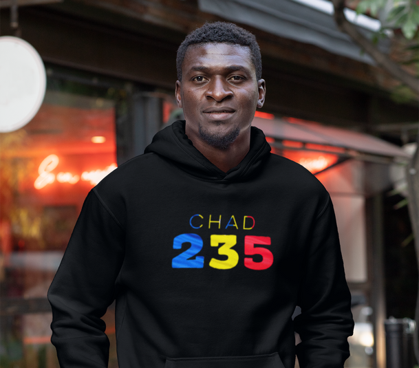 Chad 235 Mens Pullover Hoodie