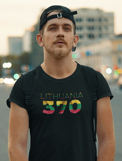 Lithuania 370 Mens T-Shirt