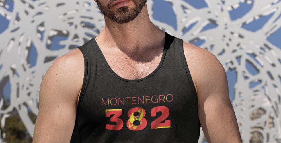 Montenegro Mens Black Tank Top Vest