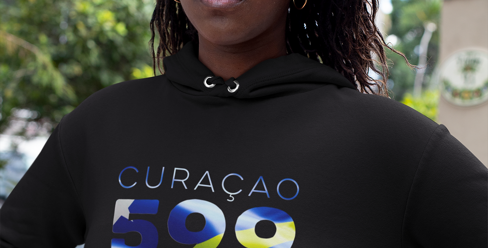 Curacao Womens Pullover Hoodie